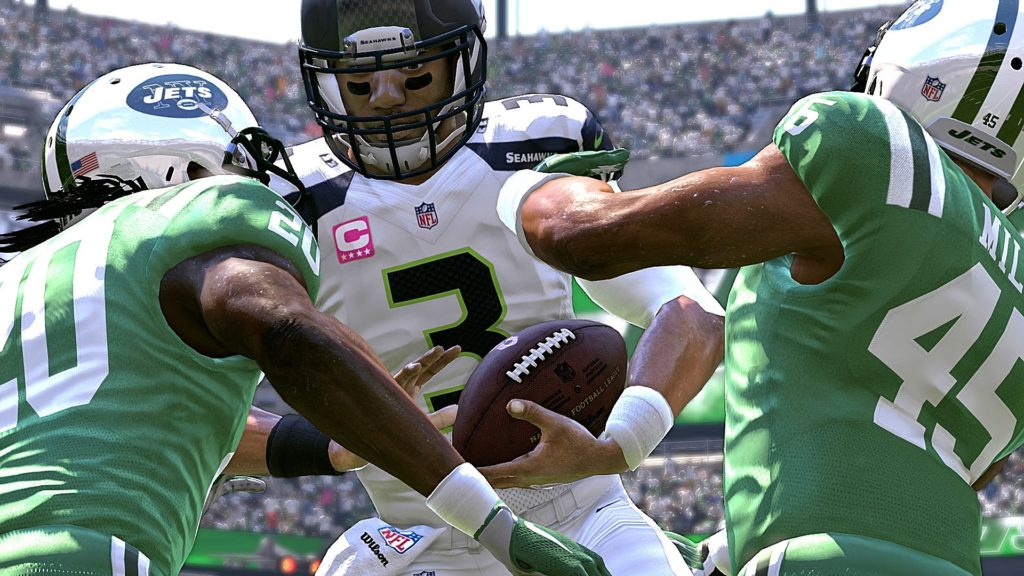 Madden 17 Seattle Seahawks vs New York Jets Connected Franchise Week 4 NFL Game Play Xbox One