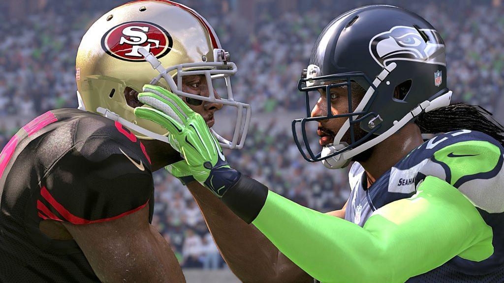 Madden 17 Seattle Seahawks vs San Francisco 49ers Connected Franchise Week 3 NFL Game Play Xbox One