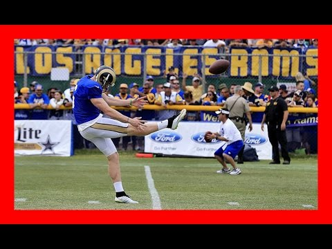 Rams punter Johnny Hekker has some history with the Seattle Seahawks