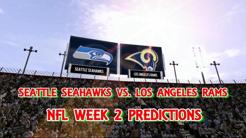 SEATTLE SEAHAWKS VS. LOS ANGELES RAMS PREDICTIONS | #NFL WEEK 2 | FULL GAME