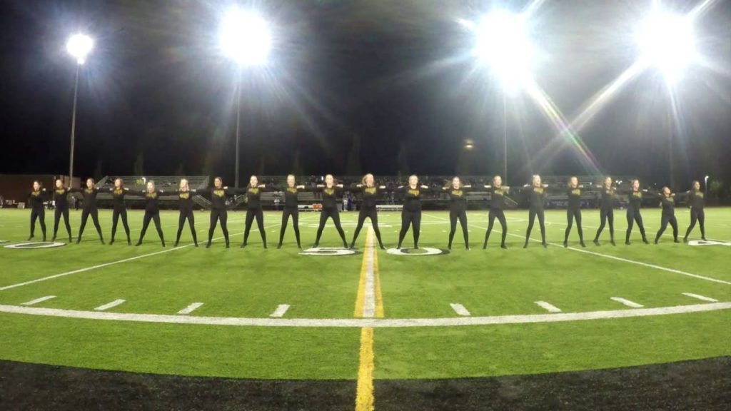 RHS Dance Team – Seattle's Prep performance from field  –  – 9/16/2016