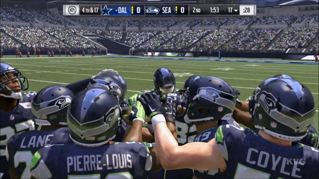 Madden NFL 17 – Dallas Cowboys vs Seattle Seahawks | Gameplay (HD) [1080p60FPS]