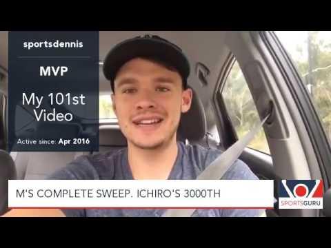 Ichiro's 3,000 Hit, Mariners Sweep Angels