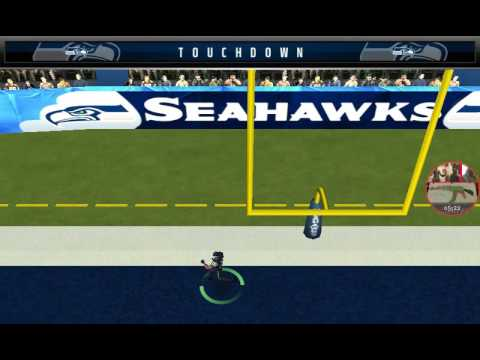 Seahawks vs rams (madden mobile)