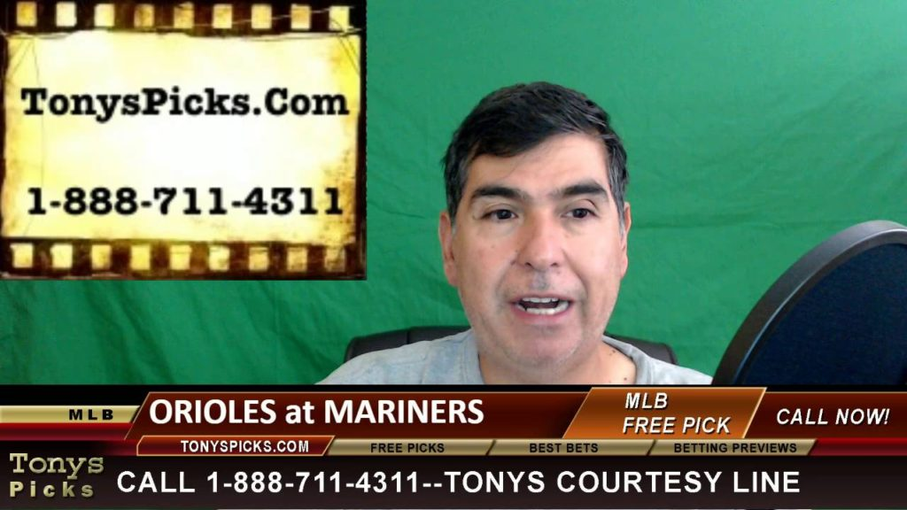 Baltimore Orioles vs. Seattle Mariners Pick Prediction MLB Baseball Odds Preview 7-1-2016