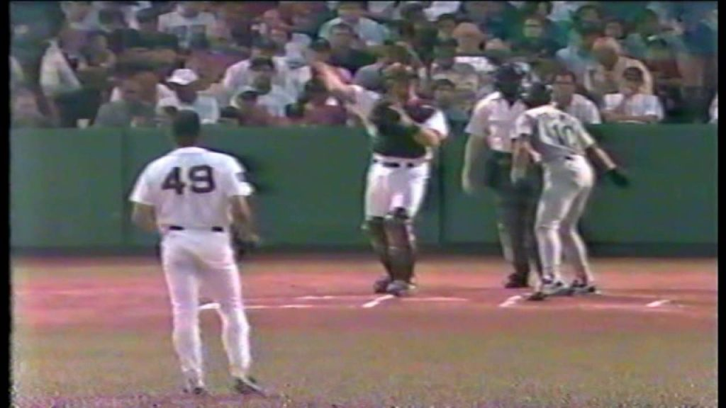 Seattle Mariners at Boston Red Sox 07 08 1994 Alex Rodriguez debut