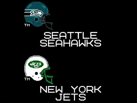 Tecmo Super Seahawks- Week 4 @ Jets