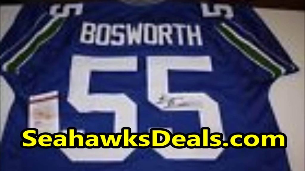 Brian Bosworth Seattle Seahawks Jersey