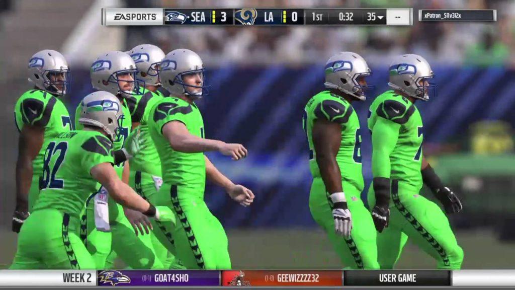 Kaos | Seahawks vs Rams