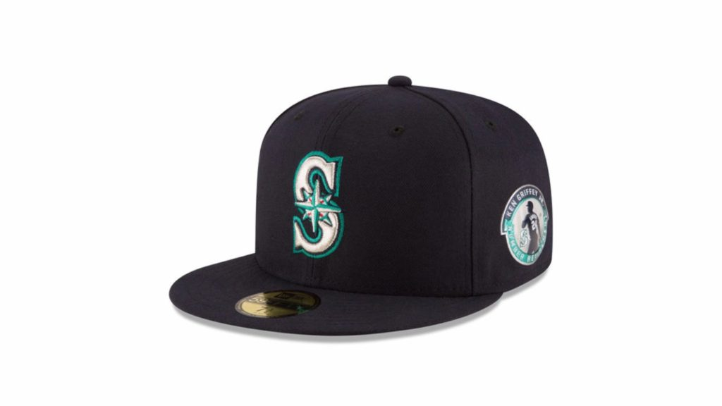 New Era Seattle Mariners Ken Griffey Jr  Retirement Collection 59Fifty Fitted Baseball Cap