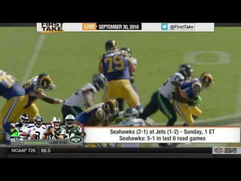 ESPN First Take – Today Seahawks vs Jets