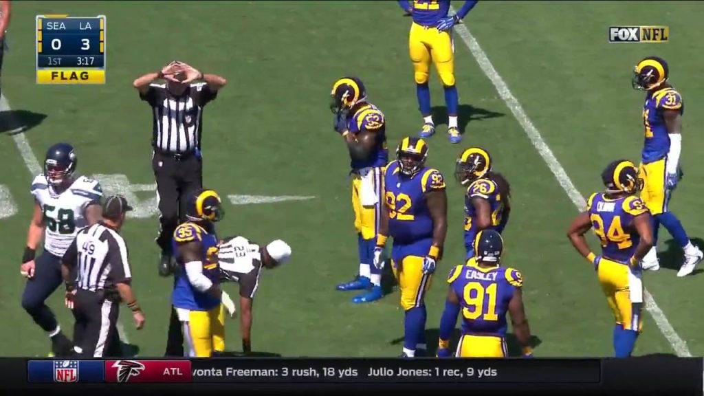 Seattle Seahawks vs Los Angels Rams 2016