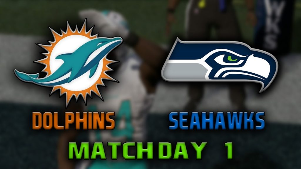 NFL 17 | Dolphins – Seahawks | Matchday 1 – CZ/SK