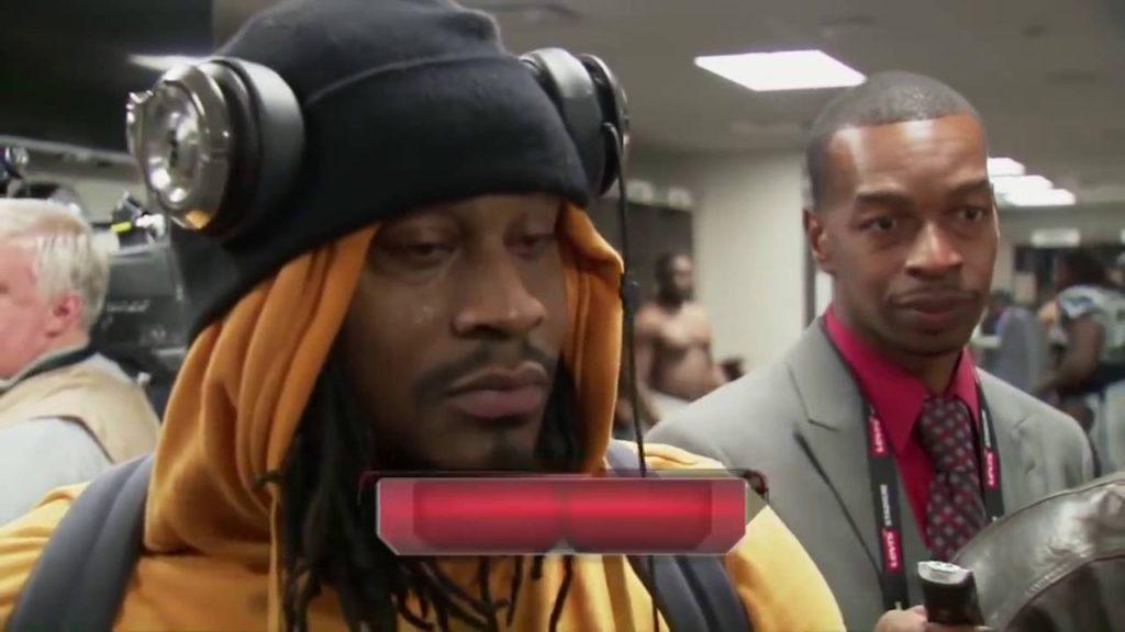 Marshawn Lynch Funniest Interviews TV Moments Beast Mode NFL Seahawks &25 hf4hs