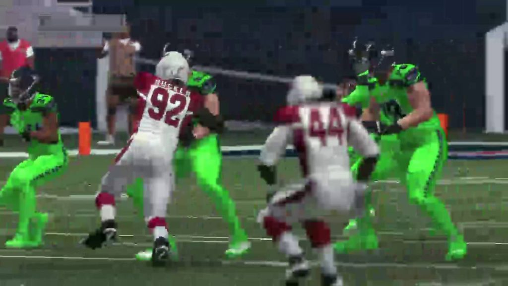 Madden 17 Seattle Seahawks color rush