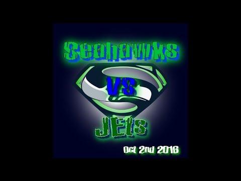 NFL- Week 4 | Seahawks vs NY Jets | 1st Half | 10/02/16 | Condensed Game | HendricsTV