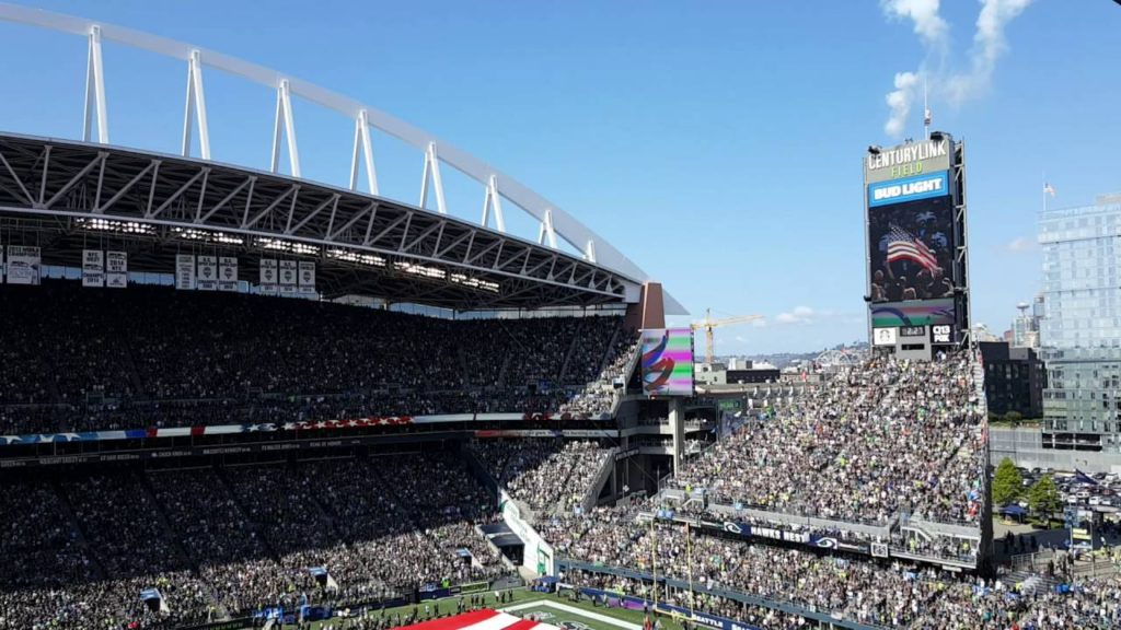 Seattle Seahawks – Miami Dolphins, 9/11/16 National Anthem
