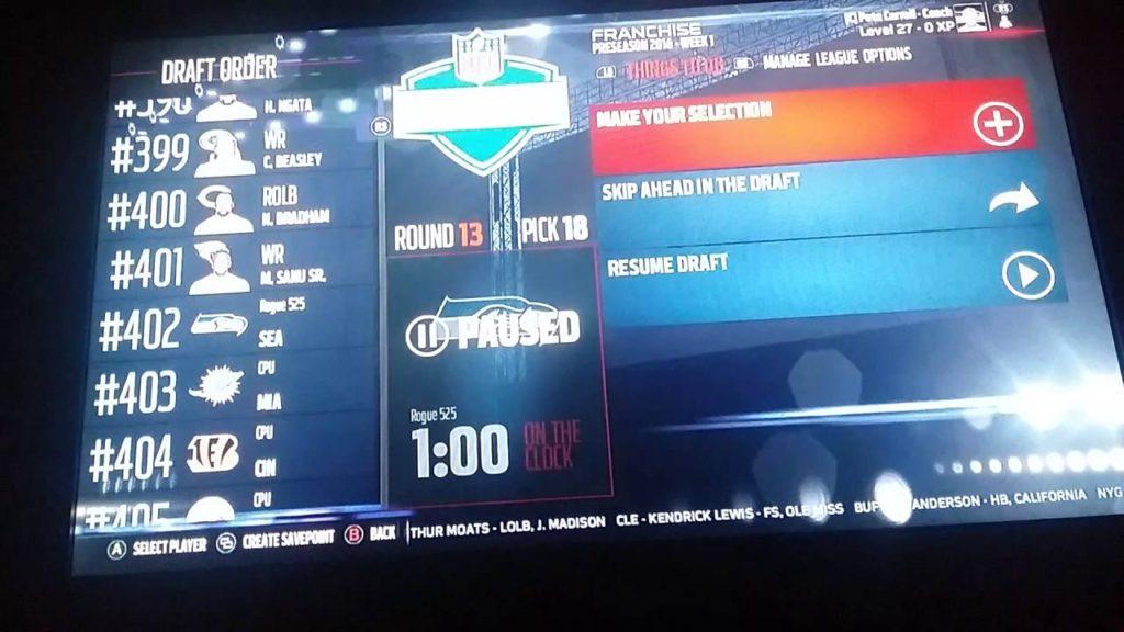 Madden NFL 17 Seattle Seahawks Fantasy Draft Ep. 1