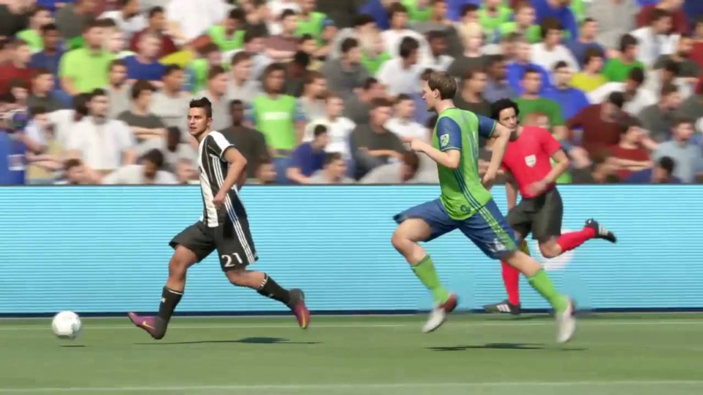 Juventus v Seattle Sounders – FIFA 17 Football Match