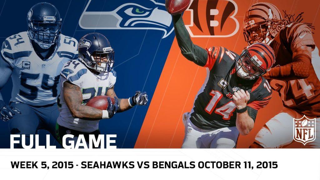 Bengals Big Comeback for OT Win vs. Seahawks (Week 5, 2015 FULL GAME)   NFL