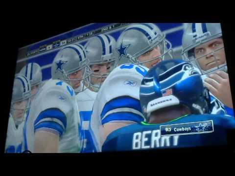 Armin Narro classic wk 9 Cowboys vs Seahawks 4th Qtr Video 2356