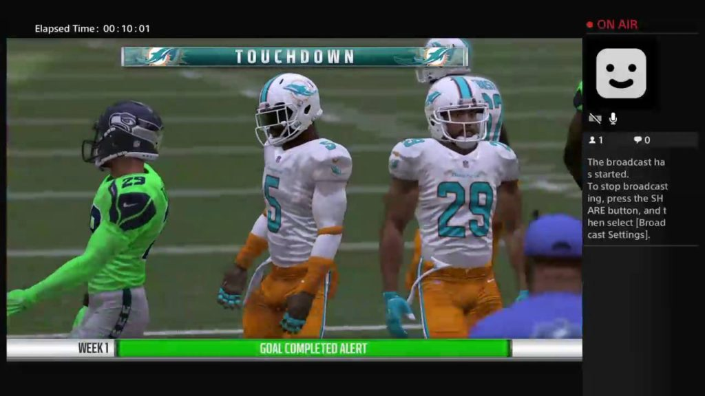 Week 1 vs Seattle (Madden 17 Live PS4 Broadcast)