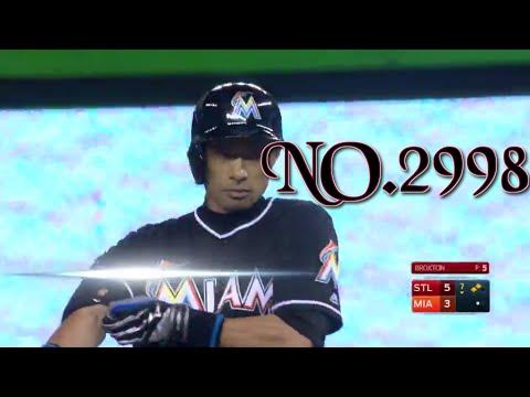 Ichiro Suzuki 2998 Hit | Cardinals vs Mariners July 28, 2016