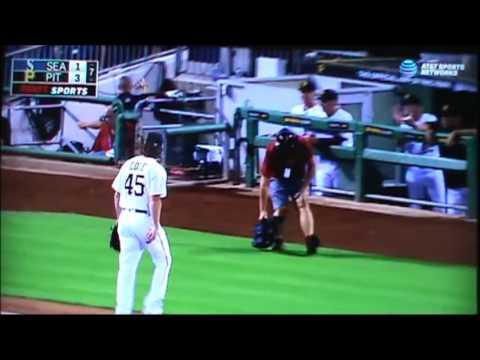 7/27/2016: Mariners @ Pirates Highlights