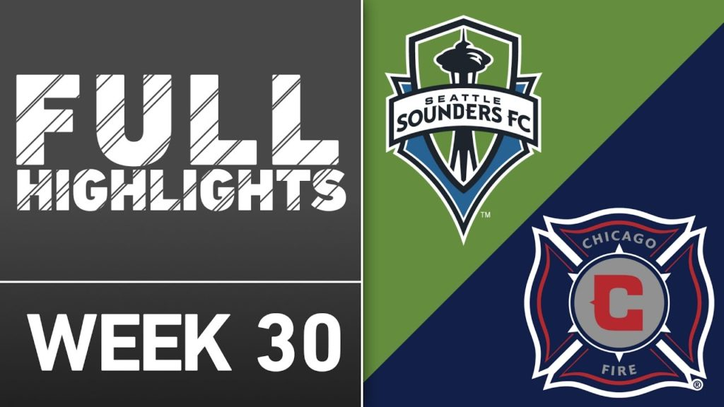 HIGHLIGHTS | Seattle Sounders 1-0 Chicago Fire