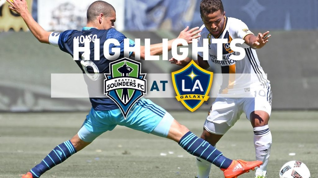 Highlights: Seattle Sounders FC at LA Galaxy