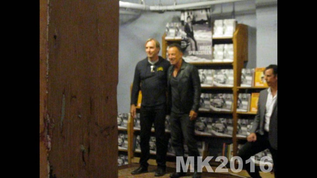 Bruce Springsteen meeting fans in Seattle 2016