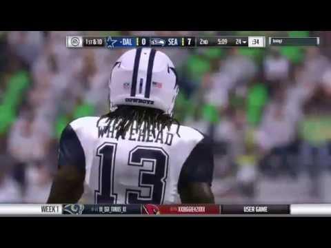PRIMETIME CFM – Year 3, Week 1 – Cowboys @ Seahawks