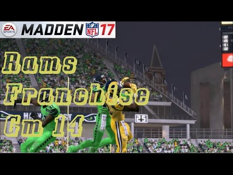 Madden 17 LA Rams Franchise – gm 14 vs Seattle Seahawks