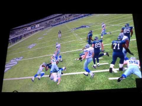 Armin Narro classic wk 9 Cowboys vs Seahawks 1st Qtr Video 2355