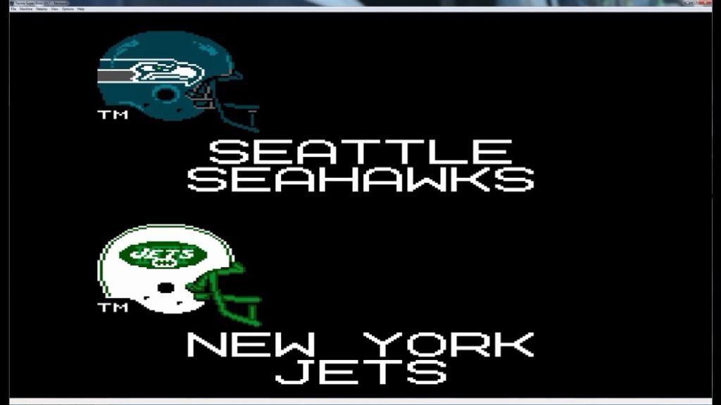 Tecmo Super Bowl 2016 – Seahawks @ Jets | 10/2/16