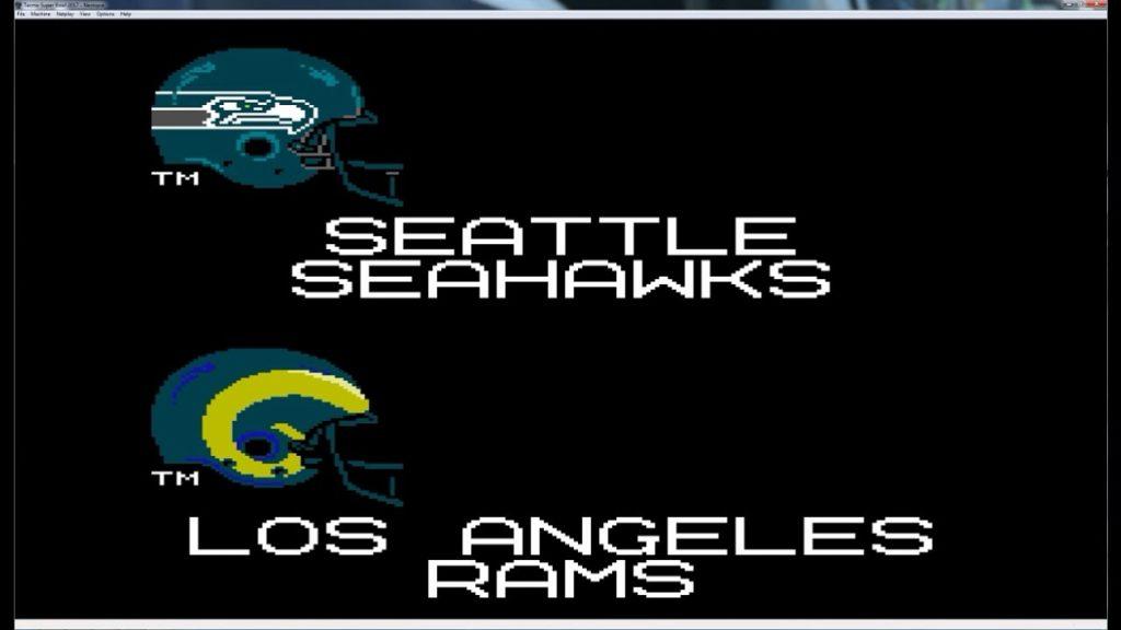 Tecmo Super Bowl 2016 – Seahawks @ Rams   9/18/16