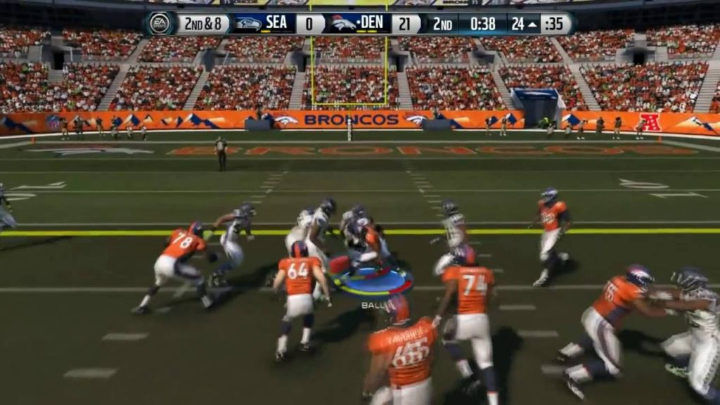 Football NFL Madden 15    Most Points EVER    Broncos Vs  Seahawks   Online Gameplay XboxOne   YouTu