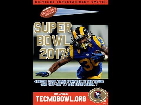 Tecmo Super Bowl 2017 – Seattle Seahawks vs. Los Angeles Rams