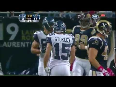 2010 Week 4 Seahawks vs Rams Highlights