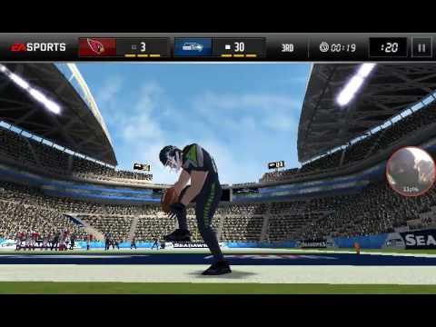 Seahawks vs cardinals (madden mobile)