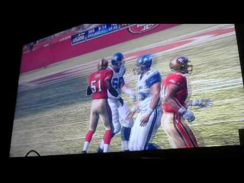 Armin Narro old school wk 8 Seahawks vs 49ers 3rd Qtr Video 2358