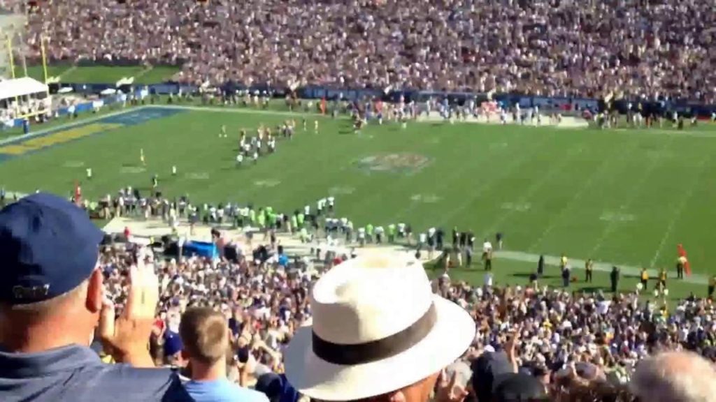 9/18/16 end of Rams vs Seahawks game
