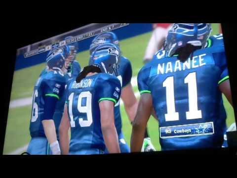 Armin narro classic wk 9 Cowboys vs Seahawks 2nd Qtr Video 2355
