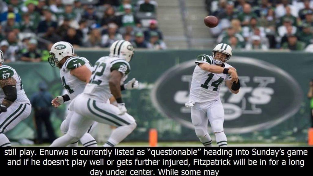 Fantasy Football Start or Sit Week 5: QB Ryan Fitzpatrick