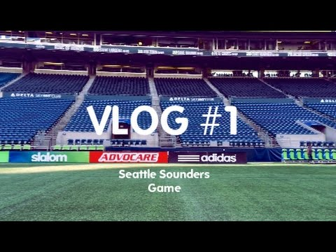 VLOG 1   Seattle Sounders Game!!