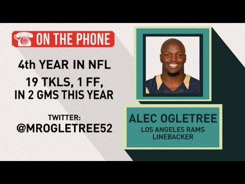 Gottlieb: Alec Ogletree talks Rams and defeating Seahawks