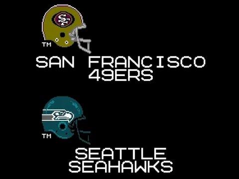 "Tecmo Super Seahawks- ""The Tip"" Game vs 49ers"
