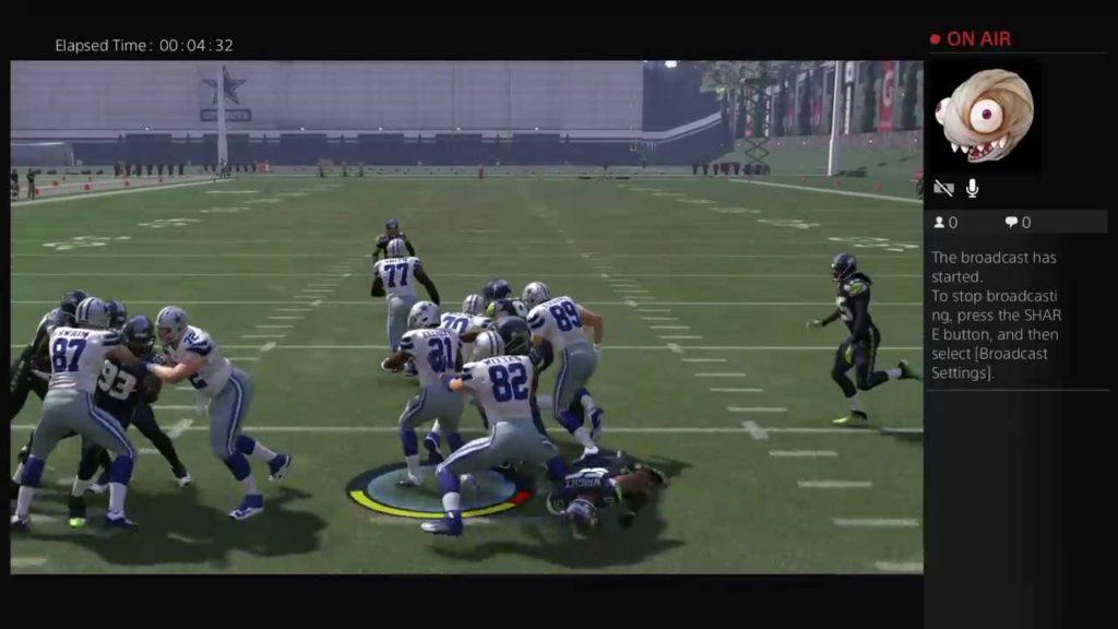 Can Ezekiel Elliott get a 99 yard td against the seahawks