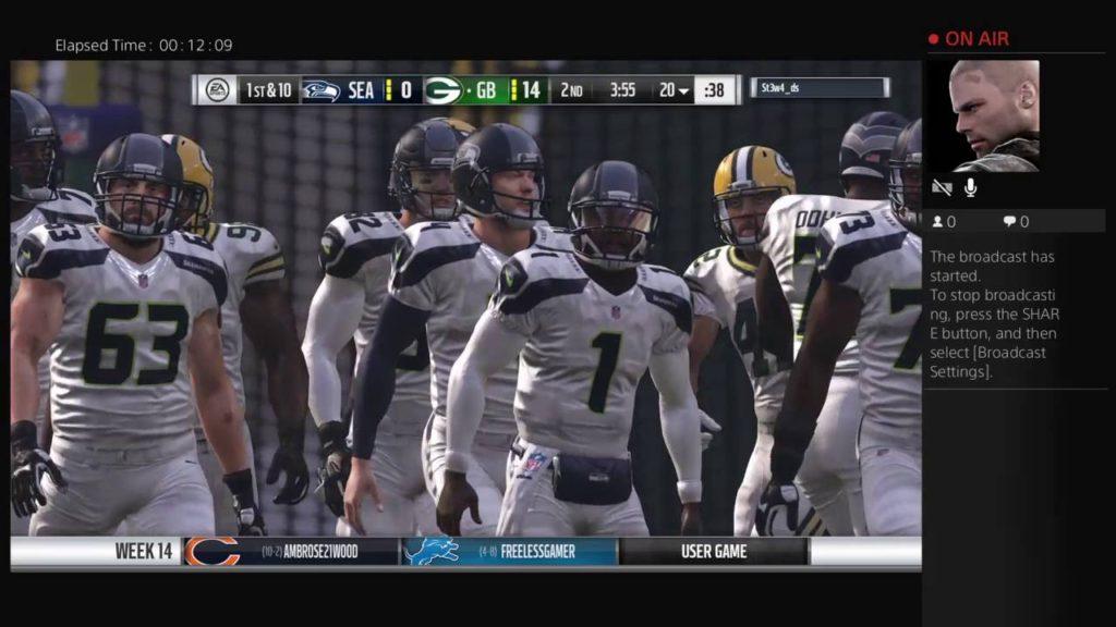 Madden VIP'S Week 14 Packers Vs. Seahawks