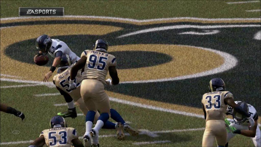Seattle Seahawks vs Los Angeles Rams #Madden17 Week2 #PS4